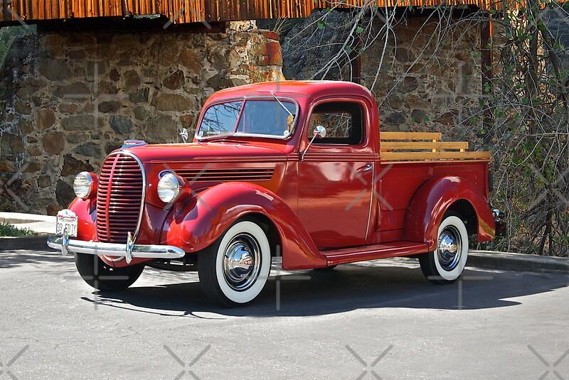 1939 ford v8 pick up truck canvas prints by davekoontz redbubble. Black Bedroom Furniture Sets. Home Design Ideas