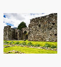 Cymer Abbey Ruins Photographic Print