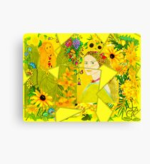 Spring and Summer Collage Canvas Print