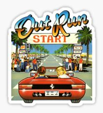 Outrun Sticker