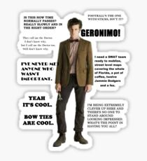 The Best of the 11th Doctor Sticker