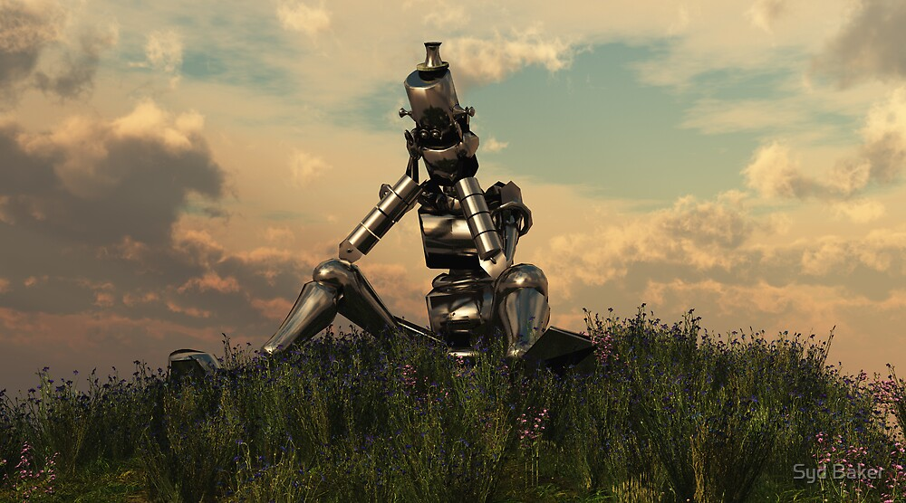Sad Robot by Syd Baker