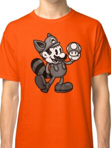 Vintage Plumber B&W Classic T-Shirt