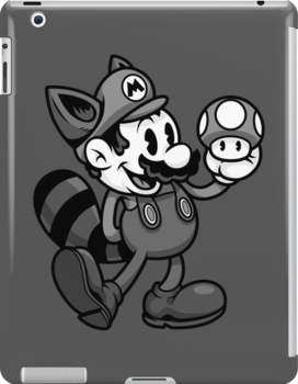 Vintage Plumber B&W by harebrained