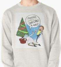 Rick and Morty Christmas Pullover
