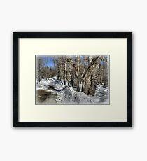 Sugaring Season on Farnsworth Hill  Framed Print