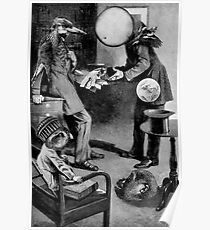 Man Trying To Sell the Deeds to a PLanet. Poster