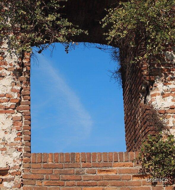 Window to the sky by orsinico