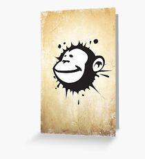 Monkeysplat Greeting Card