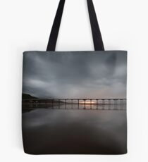 Saltburn - Stormy Sunset Tote Bag