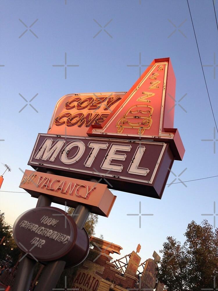 Cozy Cone Motel Sign by swylie