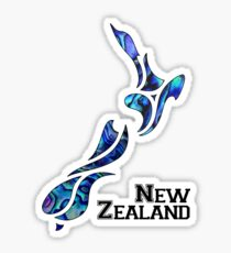 Fluid New Zealand Sticker