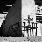Las Trampas Cross by Susan Chandler