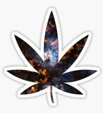Cosmic Weed Sticker
