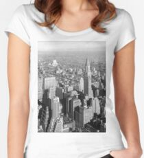 Scraping the Sky Women's Fitted Scoop T-Shirt