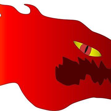 Fire Dragon by CJustusMig