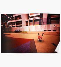Abandoned Playground - Lomo Poster