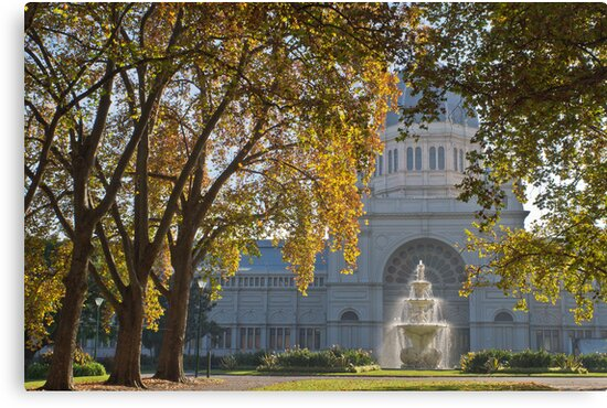Royal Exhibition Building Carlton Gardens Melbourne Vic by PhotoJoJo