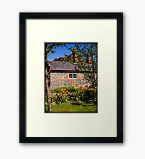 St Mary Bourne England Framed Print