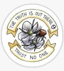 The Truth is Out There (Respberries) Sticker