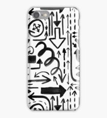 Painted Arrows iPhone Case/Skin