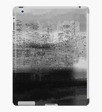 Monochrome city iPad Case/Skin