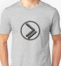 Greater than or Equal to - wht highlight Unisex T-Shirt