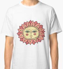 Sun face Classic T-Shirt