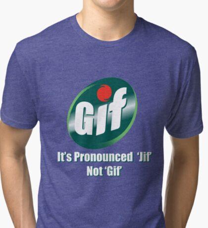 GIF Tri-blend T-Shirt