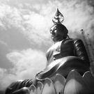 Buddha Up In The Clouds - Lomo by chylng