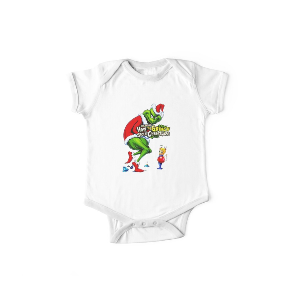 How The Grinch Stole Christmas One Piece Short Sleeve By Tpejoves