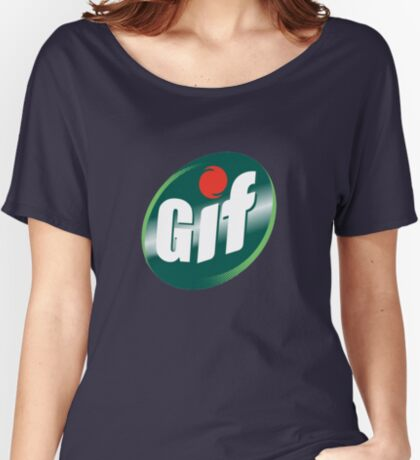 GIF  Women's Relaxed Fit T-Shirt