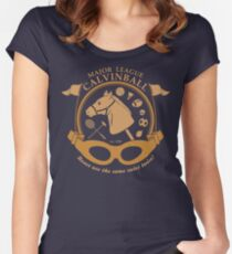 Major League Calvinball Women's Fitted Scoop T-Shirt