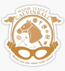 Major League Calvinball Sticker