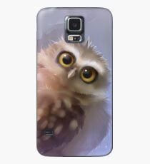 Funda/vinilo para Samsung Galaxy Madriguera, búho