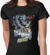 The Angels Strike Back Women's Fitted T-Shirt
