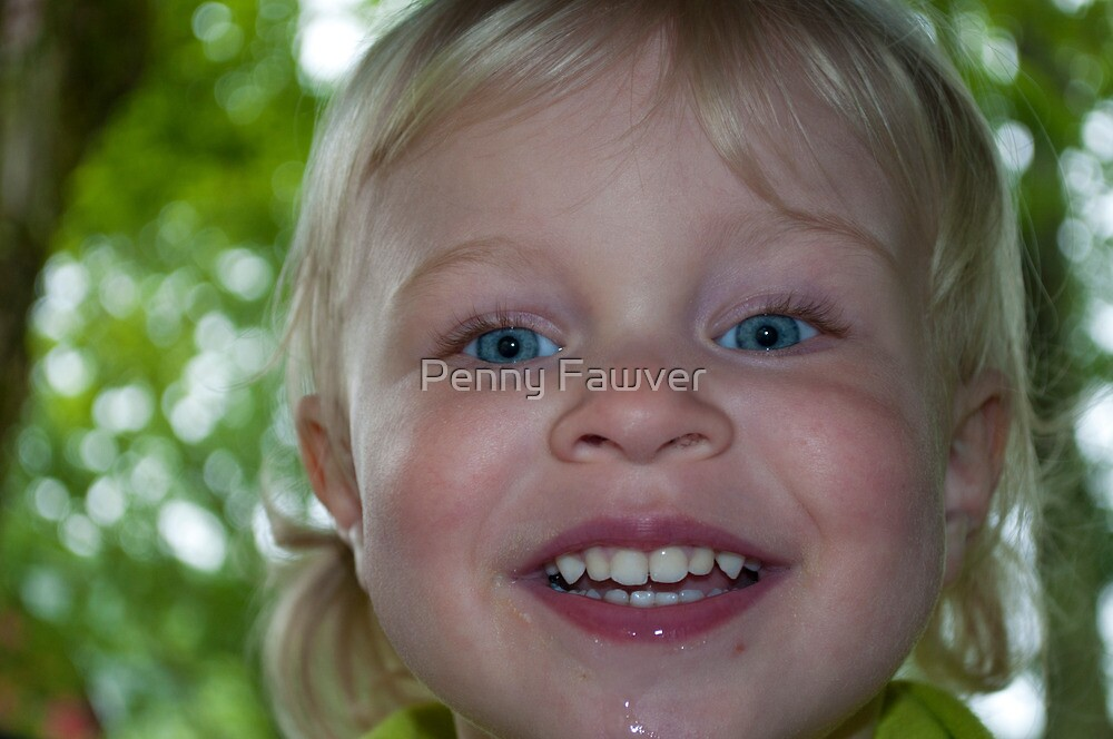 Our sunshine on a rainy day by Penny Fawver