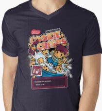 Cookie Crisps Mens V-Neck T-Shirt