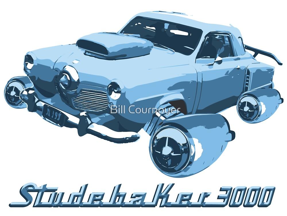 Studebaker 3000 (Blue) by Bill Cournoyer