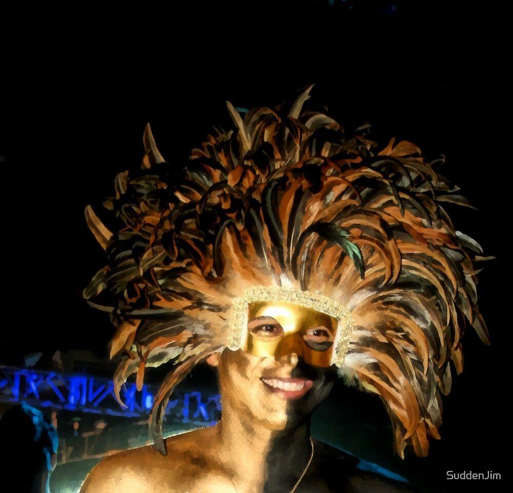 I've Got Feathers On My Head! by SuddenJim
