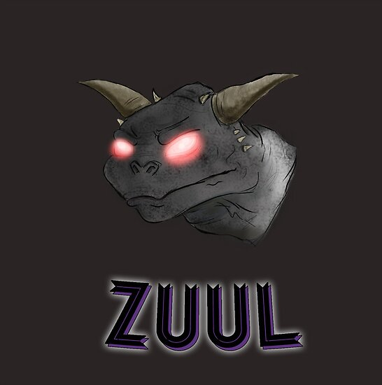 There is no Dana, only Zuul. by Krystel K
