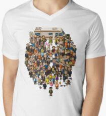 Super Breaking Bad Men's V-Neck T-Shirt