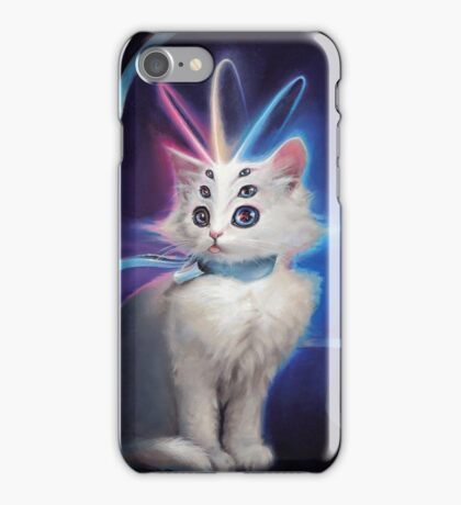 Buttons the Cat iPhone Case/Skin