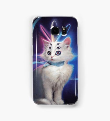 Buttons the Cat Samsung Galaxy Case/Skin