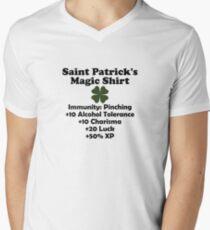 Saint Patrick's Magic Shirt Men's V-Neck T-Shirt