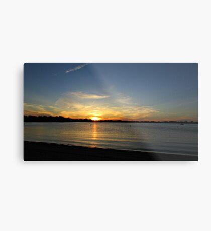Placid Moments Metal Print
