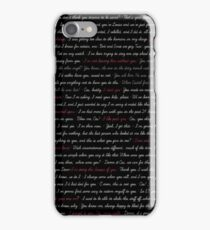 DeanCas Quotes - IPhone iPhone Case/Skin
