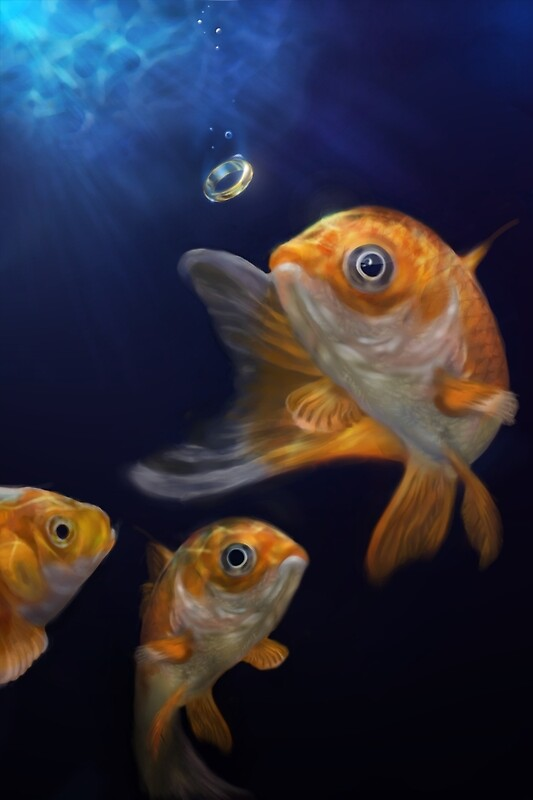 """Goldfish"" by Aaron Bolton 