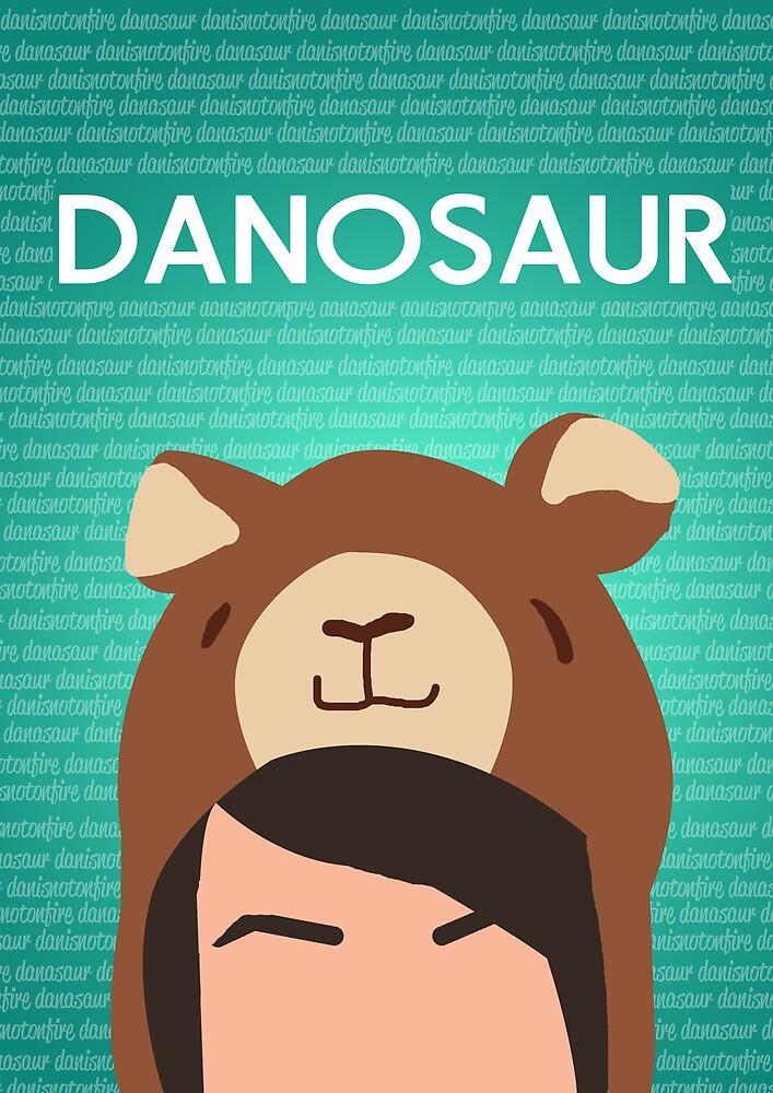 Danosaur Poster by EricaCookies