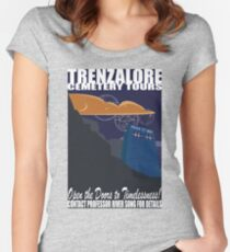 Trenzalore Cemetery Tours Women's Fitted Scoop T-Shirt